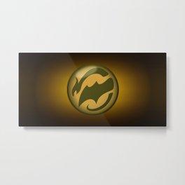 Logo-3b Metal Print