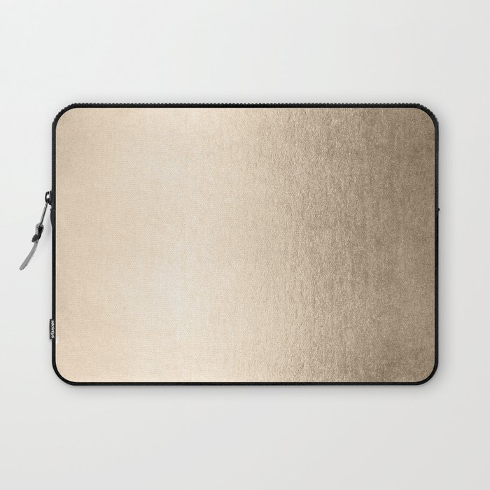 White Gold Sands Laptop Sleeve