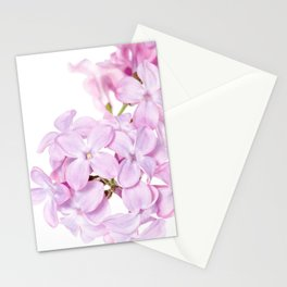 Lilac Close-up - Minimalist flower photograph Stationery Cards