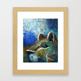 HE Calls Me Ariel Framed Art Print