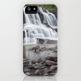 Lower Gooseberry Falls in Minnesota iPhone Case