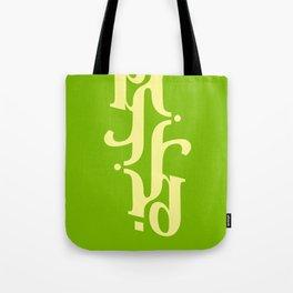 Type Foundry - Cambria Bold Italic Tote Bag