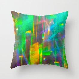 Prisms Play of Light 4 Throw Pillow