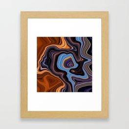 Fluid Art Energy_#06 Framed Art Print
