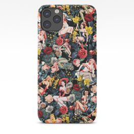 Floral and Pin-Up Girls IV iPhone Case