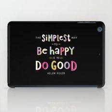 Do Good iPad Case