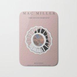 Mac Miller, Devine Feminine Album Print, Music Print, A5 A4 A3 Unframed Indie Rock Art, Home Decor, Custom  Bath Mat