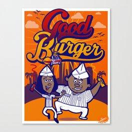 Good Burger Canvas Print