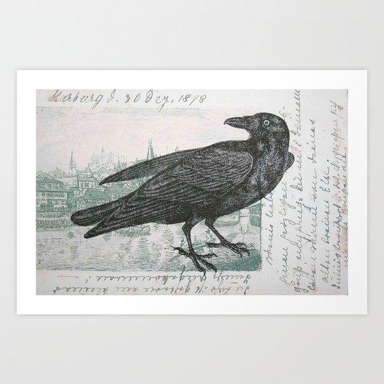 Raven of Marburg Art Print