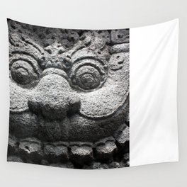 Smiling Monster Wall Tapestry