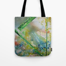 Alien Touchdown Tote Bag