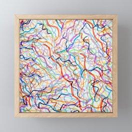Strands Framed Mini Art Print