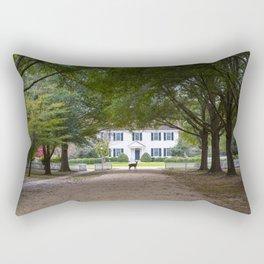 Bassett Hall in Autumn Rectangular Pillow