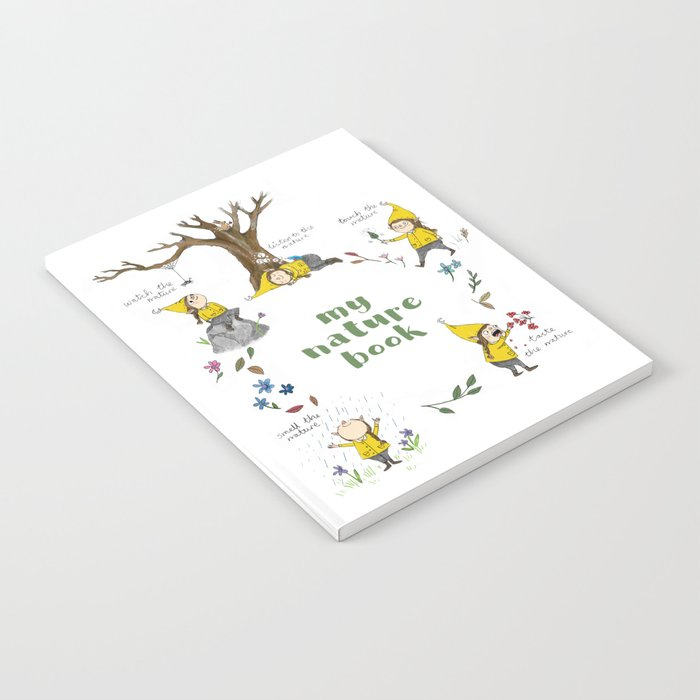 My Nature Book - little elf's mindful nature journal Notebook