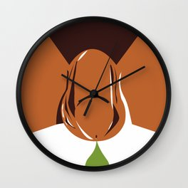 Get Tested Poster Wall Clock
