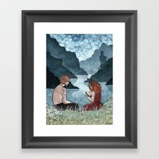Scottish Lake Framed Art Print