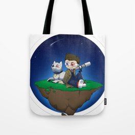 Levitating Island of Awesomeness Tote Bag
