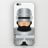 robocop iPhone & iPod Skins featuring Robocop by Capitoni