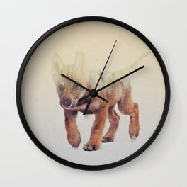 Little Ones: Wolf V2 Wall Clock
