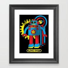 Asimov's Law Framed Art Print