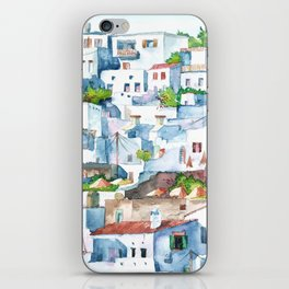 Panorama of Lindos iPhone Skin