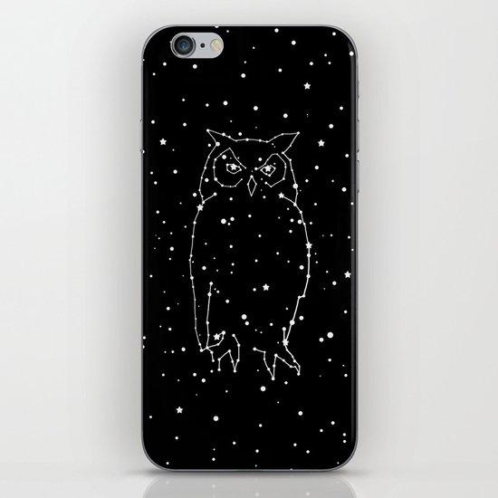 Owl Constellation iPhone & iPod Skin
