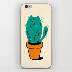 Cat-tus iPhone Skin