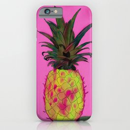 Pineapple Pink iPhone Case