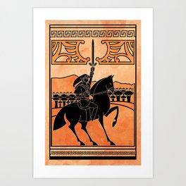 Hero of Time Art Print
