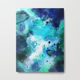 Foam: Cosmos Series IX Metal Print