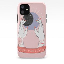 The Power of Girls iPhone Case