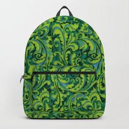 Verdant Victorian Vegetation Backpack