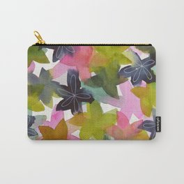 Kaleidoscope of Petals Carry-All Pouch