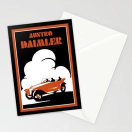 Austro-Daimler classic car Stationery Cards