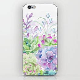 Summer Succulents iPhone Skin