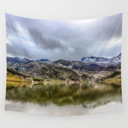 Lakes of Covadonga Wall Tapestry