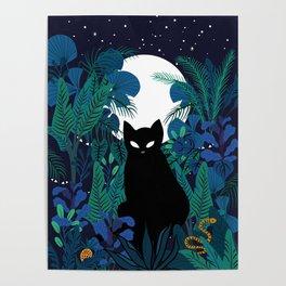 mystical cat Poster