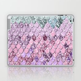 Mermaid Scales with Unicorn Girls Glitter #4 #shiny #pastel #decor #art #society6 Laptop & iPad Skin