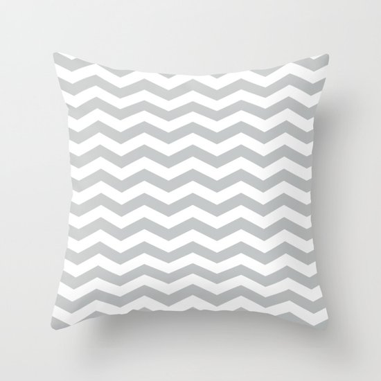 Light Grey Chevron Pattern by coolfunawesometime