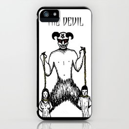 The Devil Tarot iPhone Case