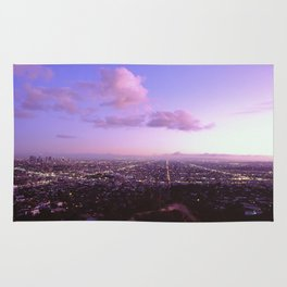 Los Angeles Skyline Rug