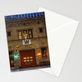 Chicago Firehouse with W flag Stationery Cards