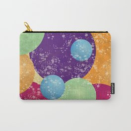 Rainbow circles Carry-All Pouch