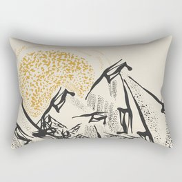 Rocky mountain Rectangular Pillow