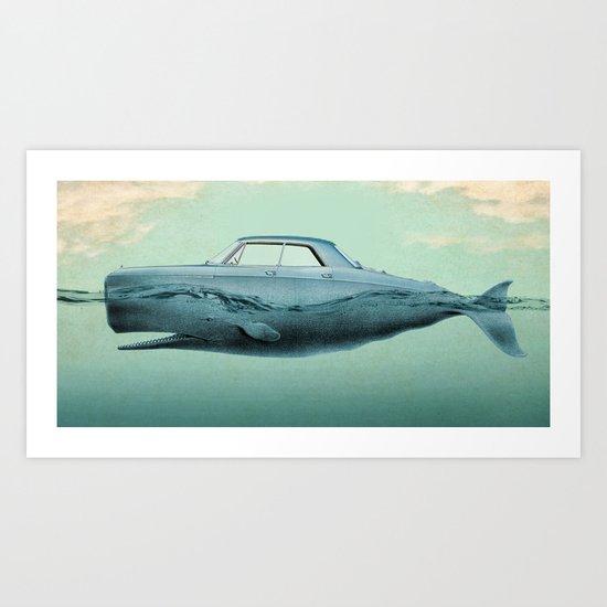 the Buick of the sea 02 Art Print