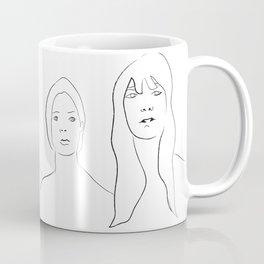 Four Portraits, A Composition Coffee Mug