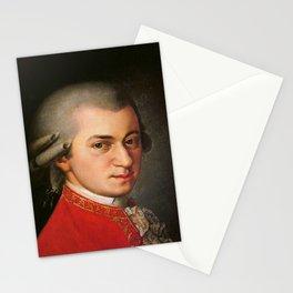 Barbara Krafft - portrait of Mozart Stationery Cards