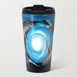 Shark Mandala Travel Mug