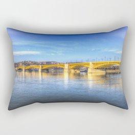 Margaret Bridge Budapest Rectangular Pillow