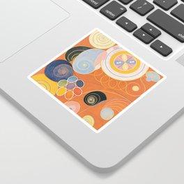 Hilma Af Klint Group IV No 3 Sticker